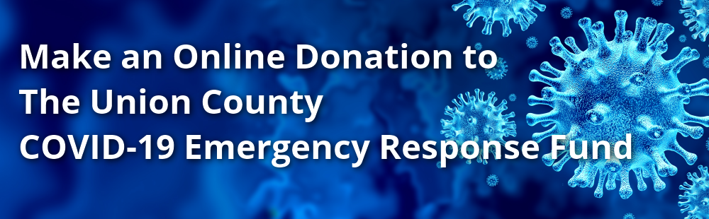 Online Donation to Union County Covid-19 Emergency Response Fund